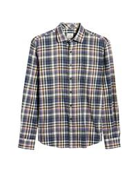 johnnie-O Ervin Plaid Flannel Shirt