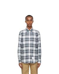 Thom Browne Grey Flannel Shirt