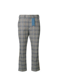 The Gigi Plaid Cropped Trousers