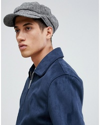 ASOS DESIGN Mariner Cap In Prince Of Wales Check
