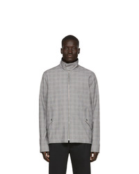 Grey Plaid Harrington Jacket