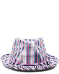 Comme des Garcons Shirt Cotton Check Hat