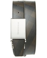 Burberry Smoked Check Reversible Belt