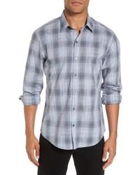 Perrygold slim fit check sport shirt medium 5259802