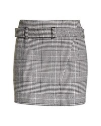 Leith Plaid Miniskirt