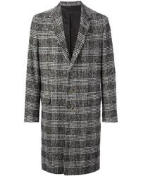 Ami Alexandre Mattiussi Checked Overcoat