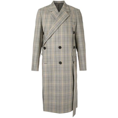 Wooyoungmi Check Coat