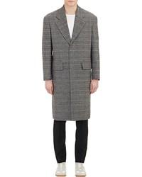 Maison Margiela Glen Plaid Overcoat Grey Size 50 Eu
