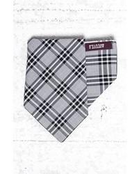 Grey Plaid Pocket Square