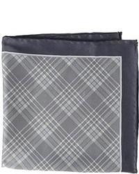 Clark plaid pocket square medium 81166