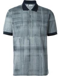 Brioni Checked Polo Shirt
