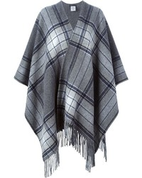 Checked poncho medium 353990
