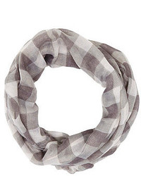 Charlotte Russe Checkered Infinity Scarf
