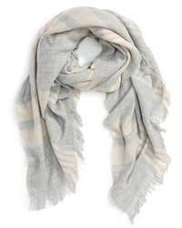 Girly Plaid Woven Scarf