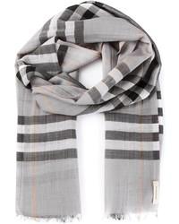 House check scarf medium 190244
