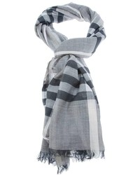 London nova check scarf medium 190243