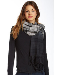 Steve Madden Ombre Plaid Day Wrap