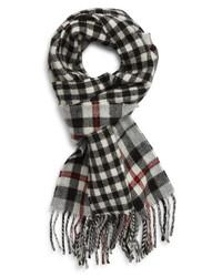 Polo Ralph Lauren Reversible Scottish Tartan Wool Blend Scarf