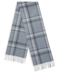 Saks Fifth Avenue Cashmere Fringe Trim Scarf