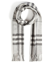 Burberry Shoes Accessories Large Check Cashmere Scarf