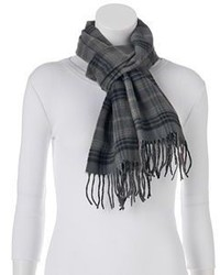 Softer Than Cashmere Plaid Oblong Scarf