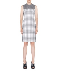 Akris Punto Grid Sheath Dress