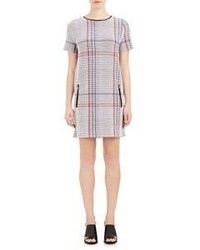 Rhi plaid knit dress medium 337754