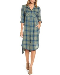 BILLY T Maxi Shirtdress