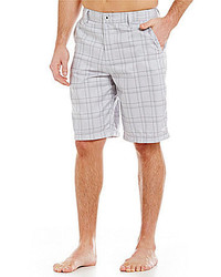 O'Neill Executive Hybrid Plaid Shorts