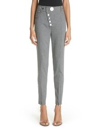 Alexander Wang Skinny Plaid Pants