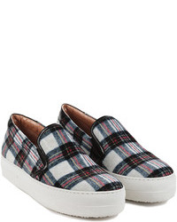 Madison et cie alta plaid sneaker medium 91526