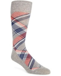 Cole Haan Plaid Socks