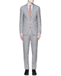Canali Capri Glen Plaid Wool Suit