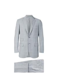 Brioni Plaid Loose Fit Suit