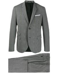 Neil Barrett Plaid Two Piece Suit