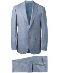Canali Plaid Two Piece Suit