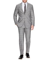 Plaid Woven Suit