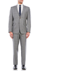 Lauren Ralph Lauren Slim Fit Glen Plaid Wool Suit