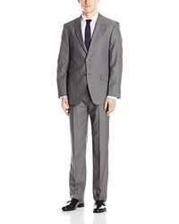 Tommy Hilfiger Bowman Suit With Jacket And Flat Front Pant