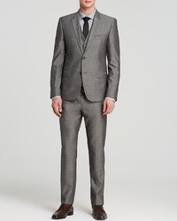 Hugo Boss Hugo Fil A Fil Textured Solid Three Piece Suit Slim Fit Bloomingdales