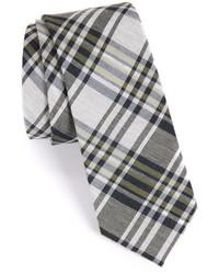 Calibrate Plaid Woven Tie