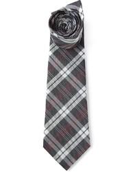 Checked tie medium 171632