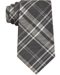 DKNY Oversized Plaid Slim Tie