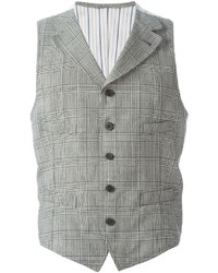 Lardini Checked Waistcoat