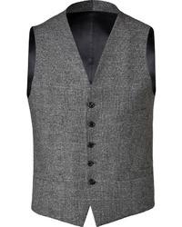 Neil Barrett Vest In Heather Slate Grey