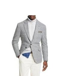 Brunello Cucinelli Plaid Wool Cashmere Sport Coat