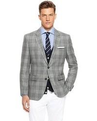 a250c9d5e Hugo Boss The James Regular Fit Linen Virgin Wool Plaid Sport Coat