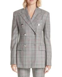 Calvin Klein 205W39nyc Plaid Wool Jacket