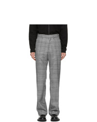 Paul Smith Grey Prince Of Wales Trousers