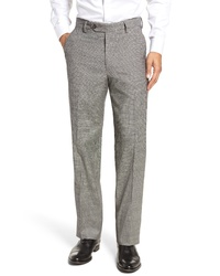 Berle Stretch Plaid Houndstooth Trousers